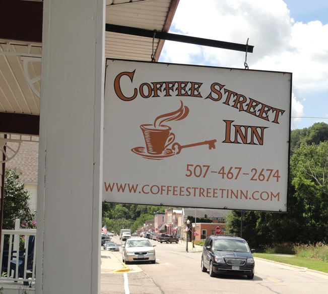 Coffee Street Inn - Lodging in Lanesboro, MN - Biking, Commonweal, Art, Buffalo Bill Days, Root River State Trail